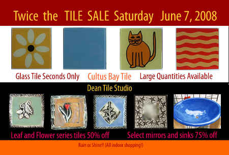 tile for less sale items